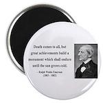 Ralph Waldo Emerson 22 Magnet