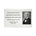 Ralph Waldo Emerson 22 Rectangle Magnet (10 pack)