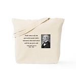 Ralph Waldo Emerson 22 Tote Bag