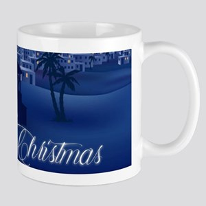 Merry Christmas Nativity Mugs