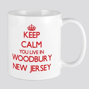 Keep calm you live in Woodbury New Jersey Mugs