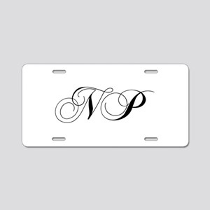 NP-cho black Aluminum License Plate