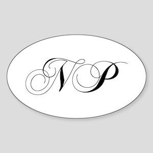 NP-cho black Sticker