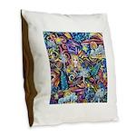 PS-Blondi Burlap Throw Pillow
