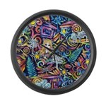 PS-Blondi Large Wall Clock