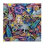 PS-Blondi Tile Coaster