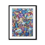 PS-Blondi Framed Panel Print