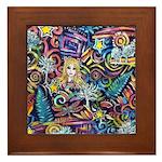 PS-Blondi Framed Tile