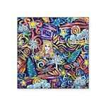 PS-Blondi Square Sticker 3