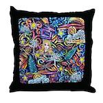 PS-Blondi Throw Pillow