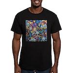 PS-Blondi Men's Fitted T-Shirt (dark)