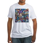 PS-Blondi Fitted T-Shirt
