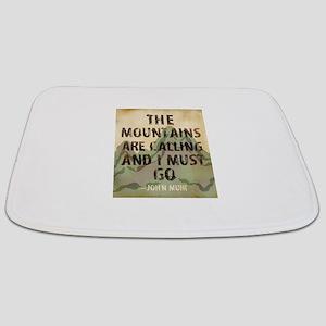 John Muir Mountains Bathmat