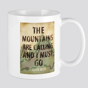 John Muir Mountains Mugs