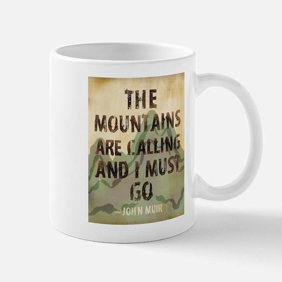 John Muir Mountains Mugs