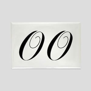 OO-cho black Magnets