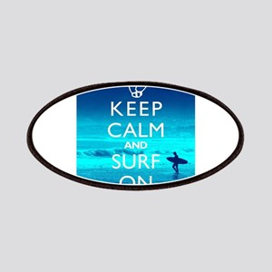 Keep Calm And Surf On Patches