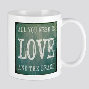 All You Need Is Love And The Beach Mugs