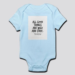 All Good Things Are Wild And Free Thorea Body Suit