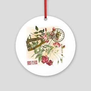 Postmark Duluth MN Ornament (Round)