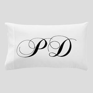PD-cho black Pillow Case