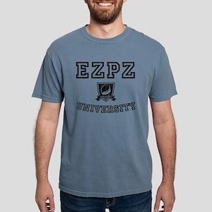 EZPZ Campus Logo Faded Look Black Type T-Shirt