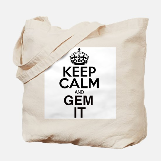 GEM IT Tote Bag