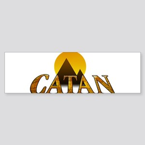Modern Settlers of Catan Bumper Sticker