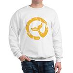 Moby Dick Yellow Logo Sweatshirt