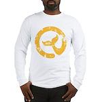 Moby Dick Yellow Logo Long Sleeve T-Shirt