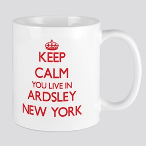Keep calm you live in Ardsley New York Mugs