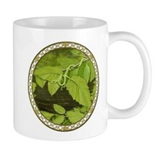 River Birch Leaf Dragon Mug