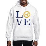 Moby Dick - Love Typeface Hoodie Sweatshirt