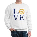 Moby Dick - LOVE Typeface Sweatshirt