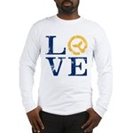 Moby Dick - LOVE Typeface Long Sleeve T-Shirt