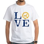 Moby Dick - LOVE Typeface T-Shirt