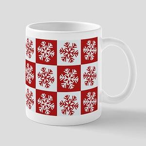 Snowflakes Pattern Mugs