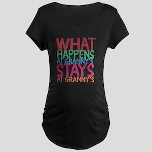 What Happens Maternity Dark T-Shirt