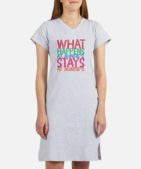 What Happens Women's Nightshirt
