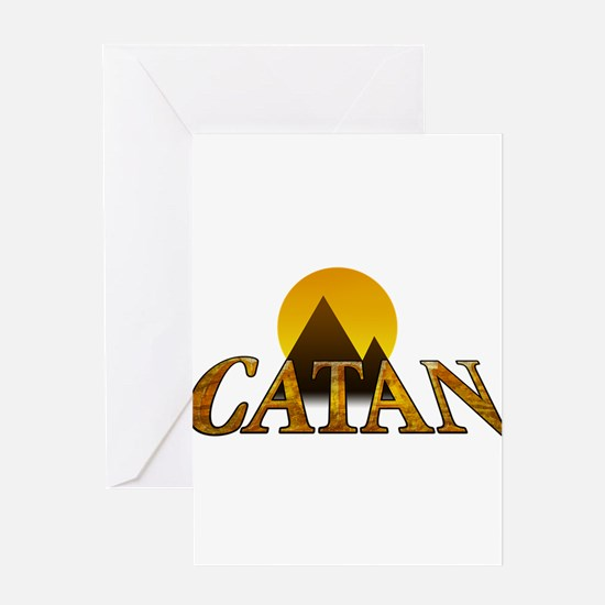 Modern Settlers of Catan Greeting Cards