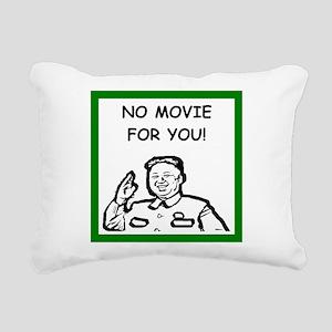 censorship Rectangular Canvas Pillow