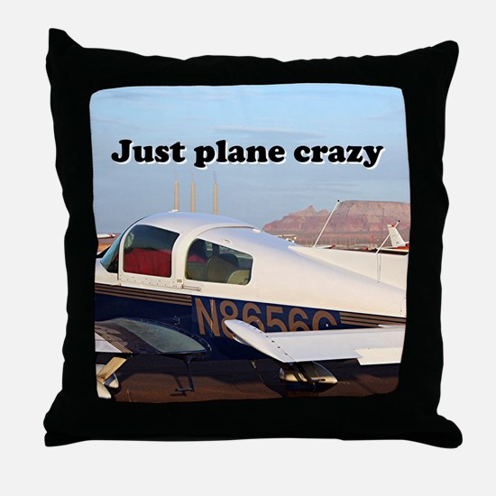Just plane crazy: aircraft at Page, A Throw Pillow