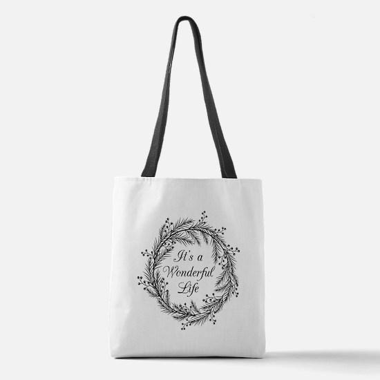 Funny Retro Polyester Tote Bag