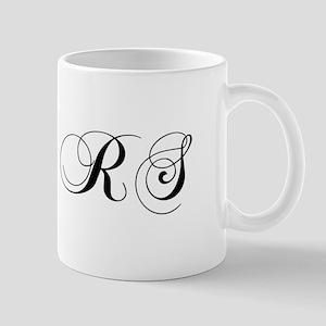 RS-cho black Mugs