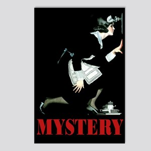 MYSTERY! Postcards (Package of 8)