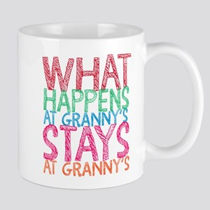 What Happens At Granny's Mugs