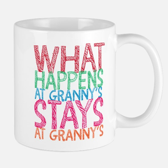 What Happens At Granny's Mugs