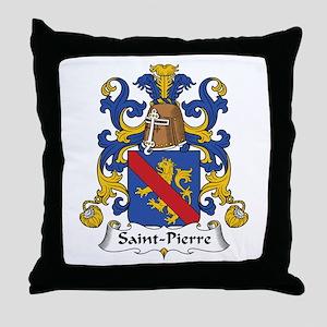 Saint-Pierre Throw Pillow