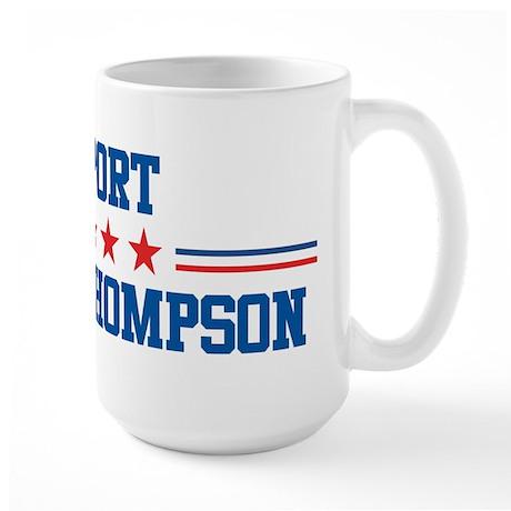 Support TOMMY THOMPSON Large Mug