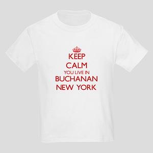 Keep calm you live in Buchanan New York T-Shirt